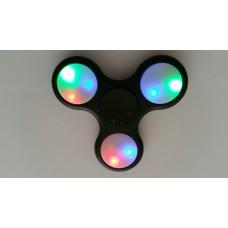 Spinner  ZWART met led verlichting