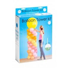 Set  voor een ballonnen zuil (kunststof-excl. ballonnen)