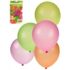 Ballon neon 50 st ca. 25 cm.