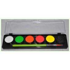 Cameleon Neon palet - Partybox voor volwassenen (6 x 6 gr)
