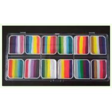 ACTIE Cameleon  WOW Factor Colorblock-palet 12 x 10 gr.