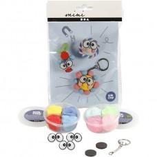 DIY  - Mini creatieve set Silk clay sleutelhanger/koelkastmagneten
