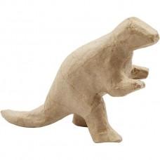 Dinosaurus  1 van papier maché geschikt voor Foam Clay