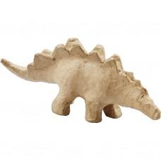 Dinosaurus  2 van papier maché geschikt voor Foam Clay