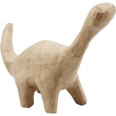 Dinosaurus  3 van papier maché geschikt voor Foam Clay