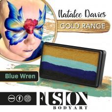 FUSION Splitcake 30 gr. NATALEE DAVIES Gold Range | Split Cake - BLUE WREN