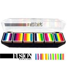 FUSION LEANNE'S TROPICAL splitcake palet (6 x 10 gr.) SFX product