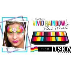 FUSION  LEANNE'S VIVID RAINBOW PETAL PALETTE - SFX Product