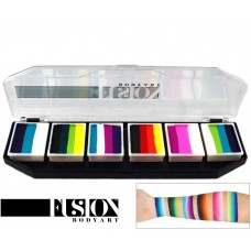 FUSION RAINBOW BURST splitcake palet (6 x 10 gr.)