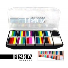 FUSION RAINBOW EXPLOSION splitcake palet (12 x 10 gr.)