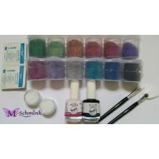 Y-Body Professionele Glittertattoo set Freehand