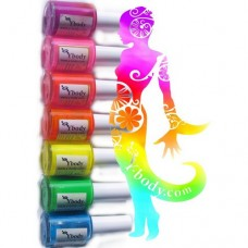ACTIE   Y-body Colorini UV NEON GEEL 15 ml.