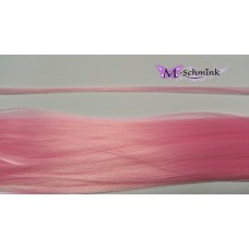 10 synthetische hair feathers effen - LICHTROZE + ring
