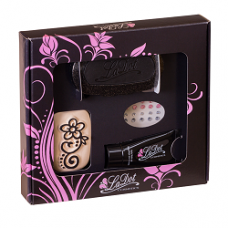 ACTIE   Ladot Giftpack tattoo set compleet - Henna flower