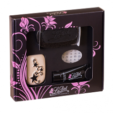 ACTIE    Ladot Giftpack  tattoo set compleet- Stars