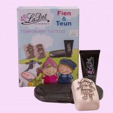Ladot Giftpack tattoo set compleet  - Fien (licentie)