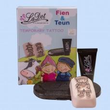 Ladot Giftpack tattoo set compleet  - Teun (licentie)