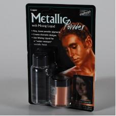 Mehron  Metallic Powder Copper + Liquid