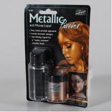 Mehron  Metallic Powder Gold + Liquid