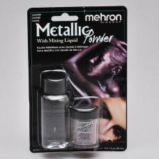 Mehron  Metallic Powder Lavender + Liquid