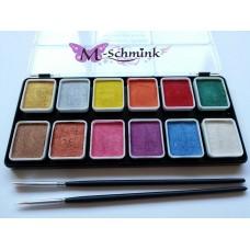 PXP schmink palet metallic medium