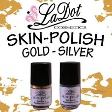 Ladot Skin Polish  ZILVER metallic  5 ml.