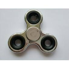 Spinner metallic ZILVER