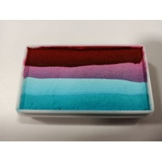 ACTIE Splitcake 28 gr. PXP Rood roze wit turquoise (LEES OMSCHRIJVING)