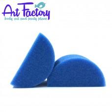 Halve spons blauw 2 stuks - Art Factory