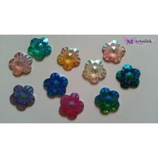 Body jewels BLOEM 10 st. Gekleurd