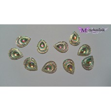 Body jewels  DRUPPEL unicorn (small) 10 st.