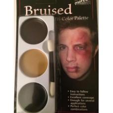 Blauwe plekken palet - bruise