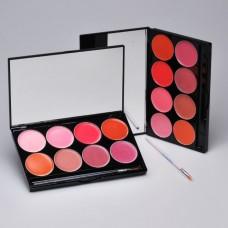 Mehron L.I.P Cream Palette - 8 kleuren - Day