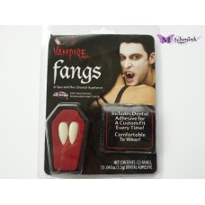 Vampiertanden (2 st.) in een kistje