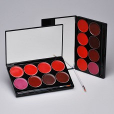 Mehron L.I.P Cream Palette - 8 kleuren - Night